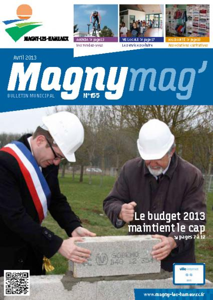 Magny Mag' N°155 Avril 2013